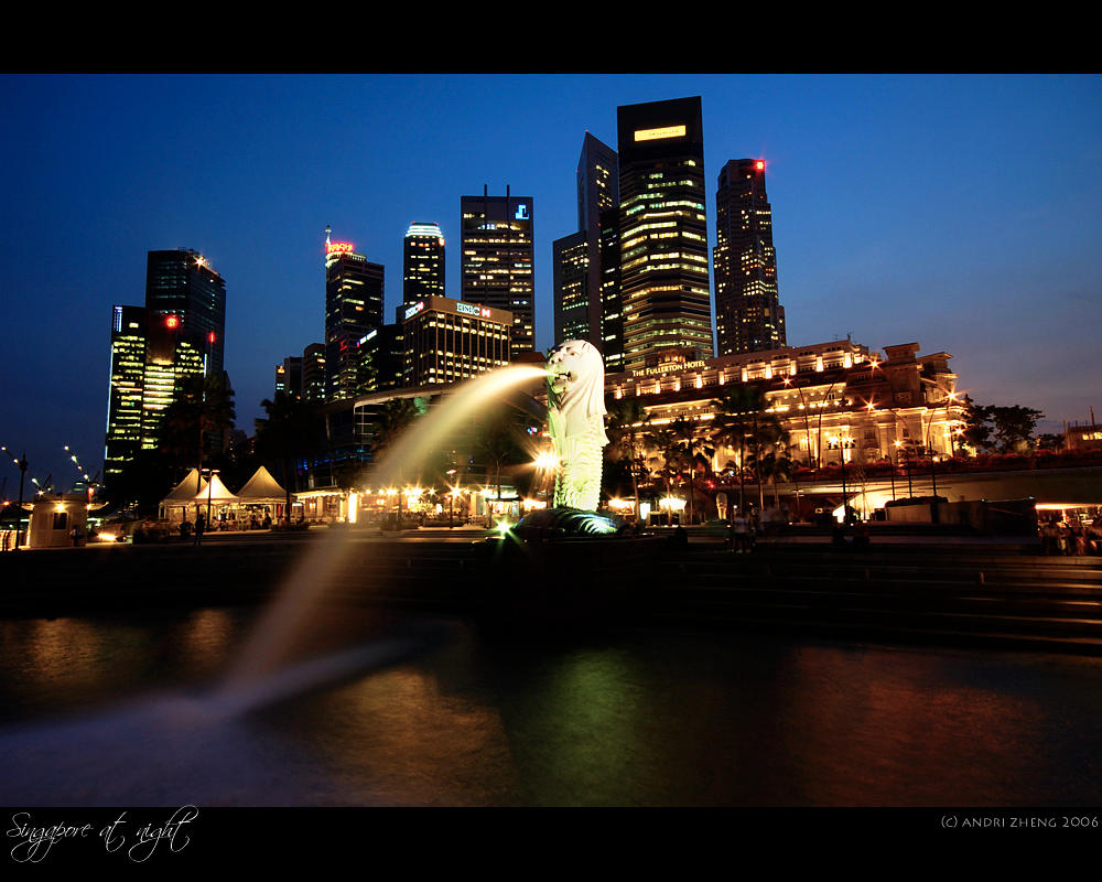 Singapore landmark 1 by ZeroDivine
