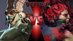Ancient Ogre vs. Akuma