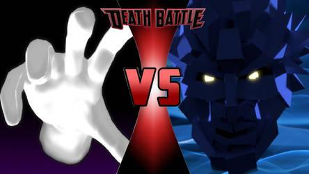 Master Hand vs. Polygon Man