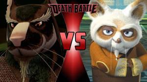 Master Splinter vs. Master Shifu