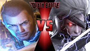 Cole MacGrath vs. Raiden