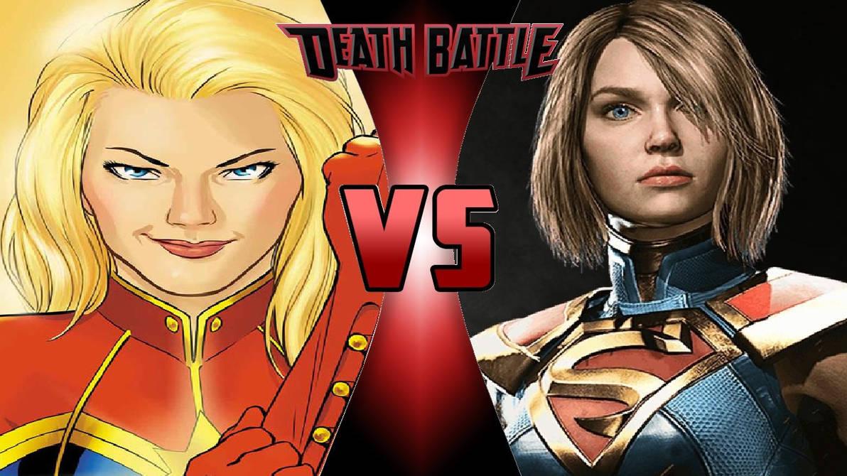 captain marvel vs. supergirlomnicidalclown1992 on deviantart