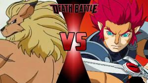 Leomon vs. Lion-O