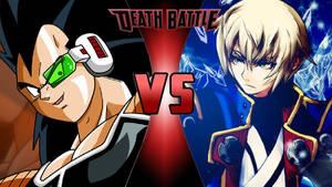 Raditz vs. Jin Kisaragi