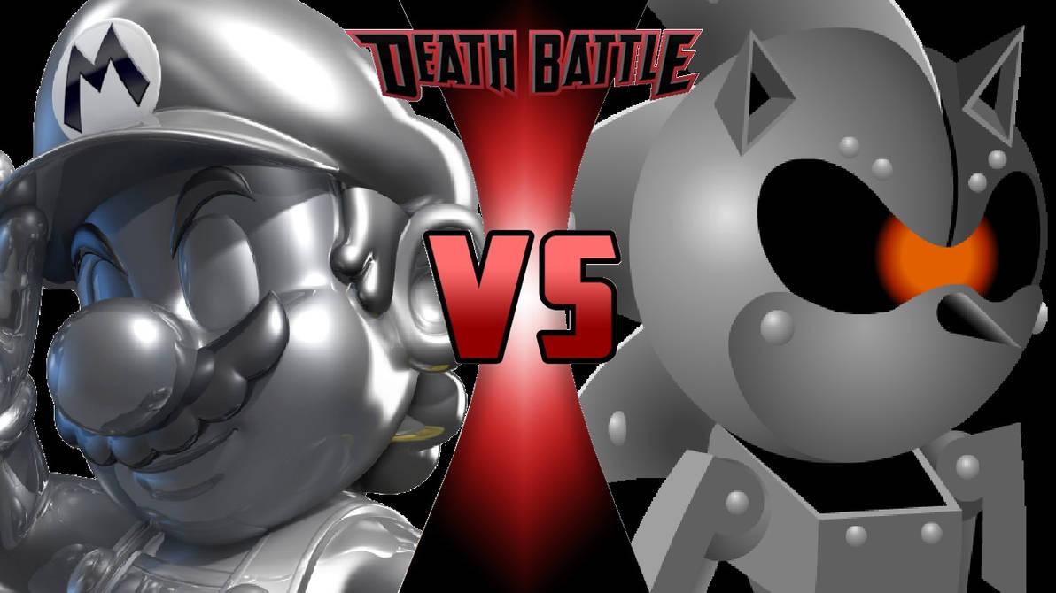 Metal Mario vs  Silver Sonic by OmnicidalClown1992 on DeviantArt