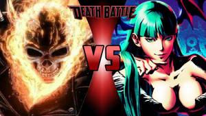 Ghost Rider vs. Morrigan Aensland
