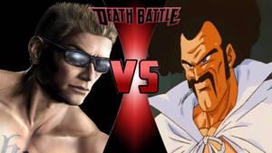 Johnny Cage vs. Hercule Satan