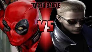 Deadpool vs. Albert Wesker