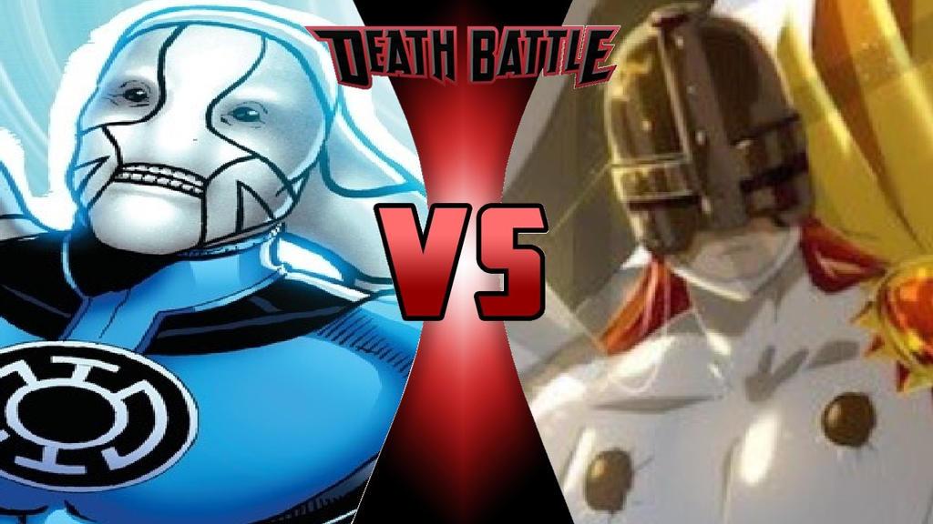 What-if Death Battle Saint Walker vs. Angemon by OmnicidalClown1992