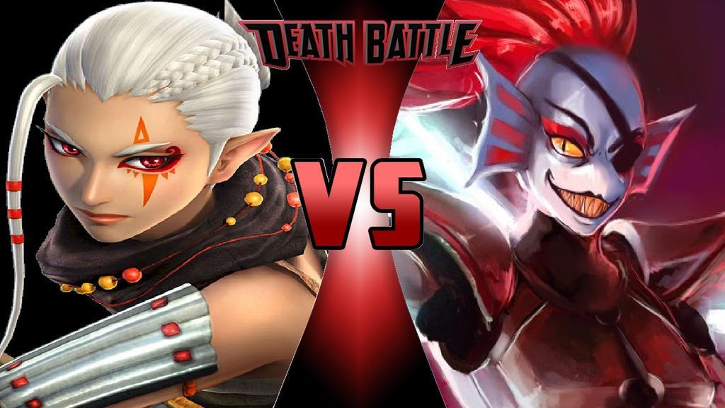 What-if Death Battle Impa vs. Undyne by OmnicidalClown1992