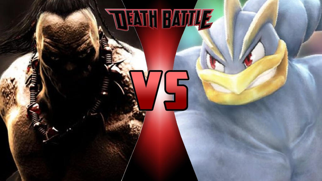 What-if Death Battle Goro vs. Machamp (Remodeled) by OmnicidalClown1992