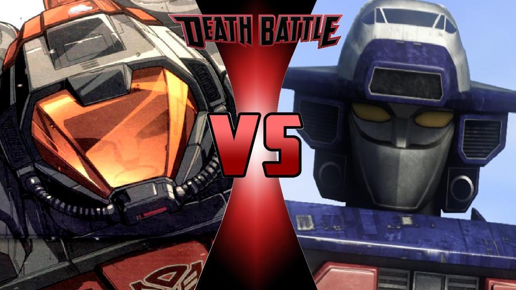 What-if Death Battle Omega Supreme vs. Astro Megaz by OmnicidalClown1992
