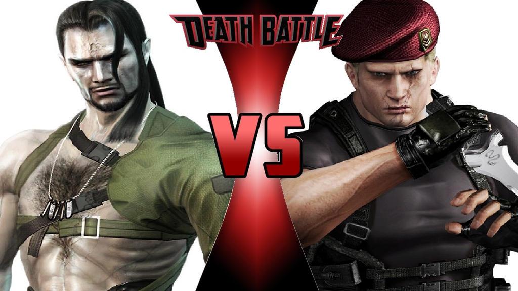 What-if Death Battle Vamp vs. Jack Krauser (Remode by OmnicidalClown1992