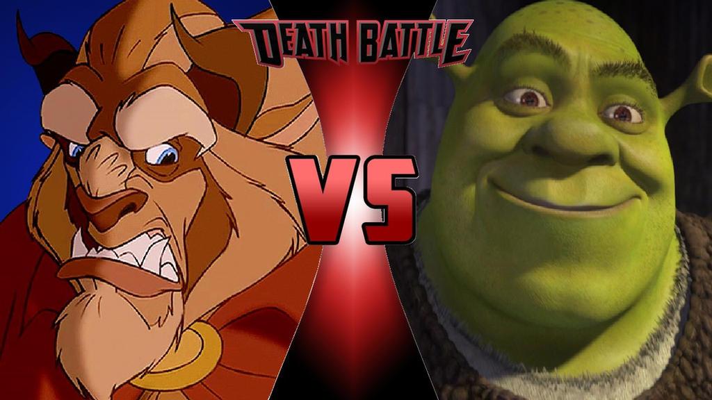 Image result for shrek vs beast