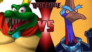King K. Rool vs. Boss Cass
