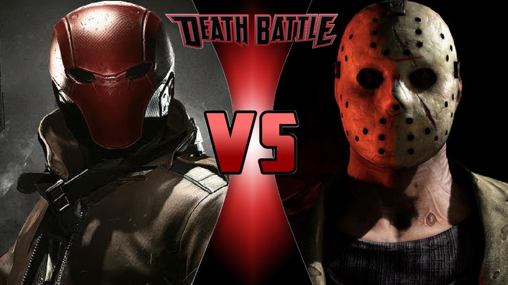 Red Hood vs. Jason Voorhees by OmnicidalClown1992