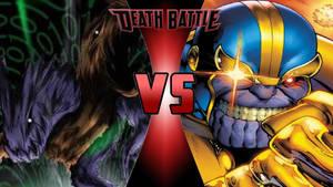 ZeedMillenniummon vs. Thanos