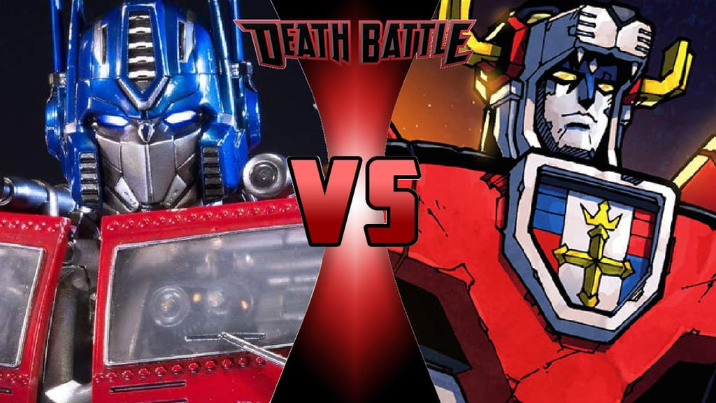 Optimus Prime vs. Voltron by OmnicidalClown1992 on DeviantArt