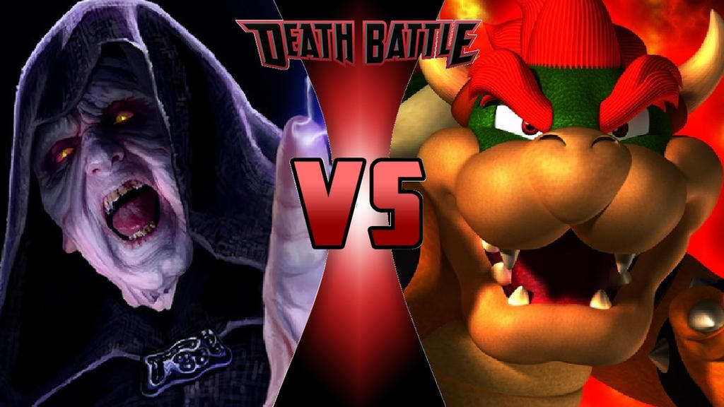 Darth Sidious vs. Bowser by OmnicidalClown1992