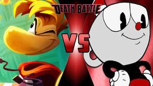 Rayman vs. Cuphead