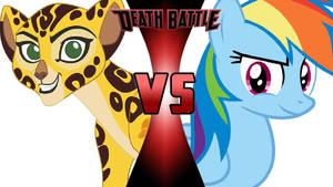 Fuli vs. Rainbow Dash