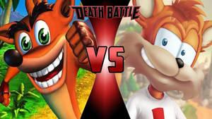 Crash Bandicoot vs. Bubsy the Bobcat