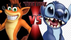 Crash Bandicoot vs. Stitch