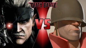 Solid Snake vs. The Soldier