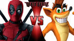 Deadpool vs. Crash Bandicoot