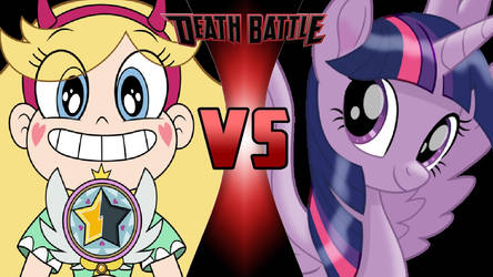 Star Butterfly vs. Twilight Sparkle by OmnicidalClown1992