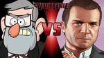Stanley Pines VS Michael De Santa
