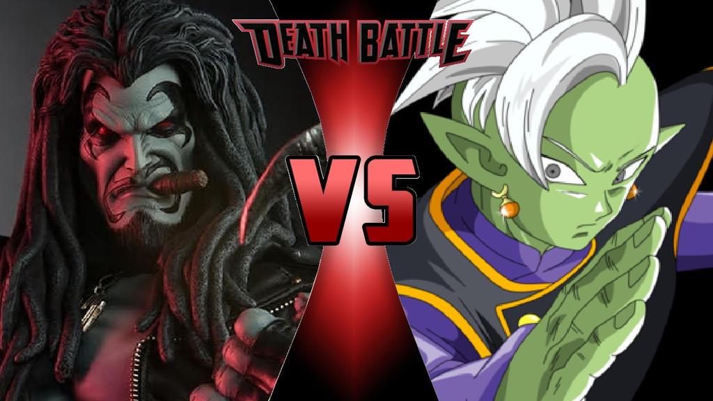 Lobo vs. Zamasu by OmnicidalClown1992