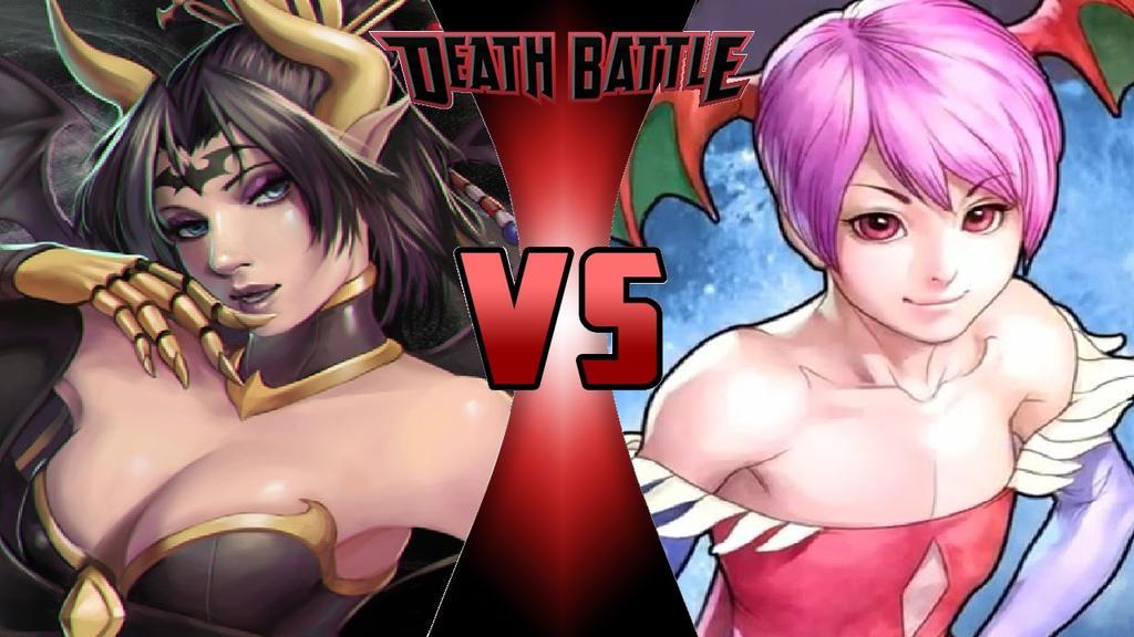 Lilithmon vs. Lilith by OmnicidalClown1992