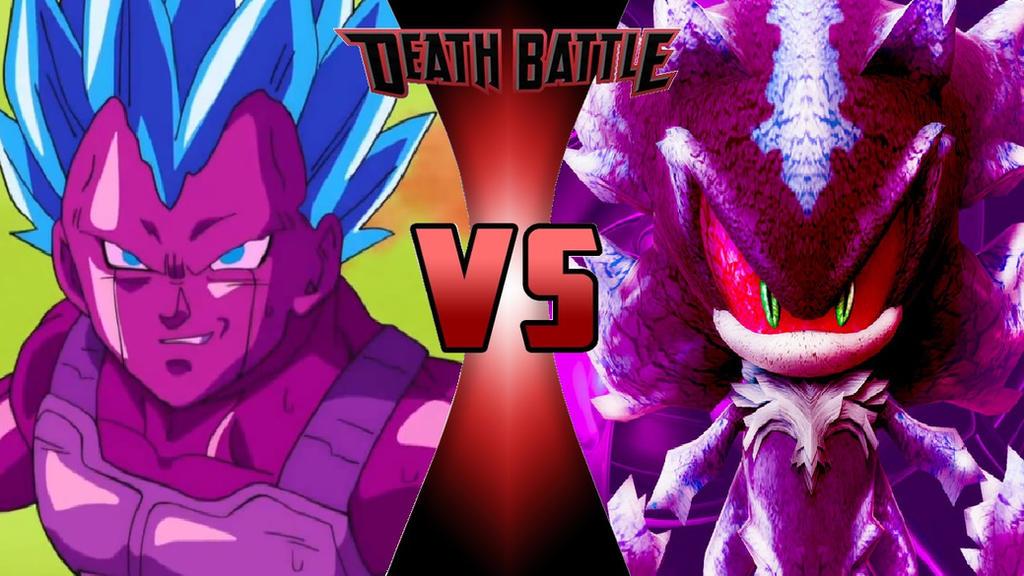 SSB Copy Vegeta vs. Mephiles the Dark by OmnicidalClown1992