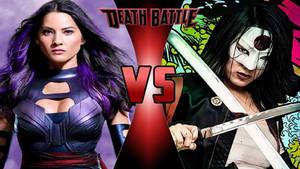 Psylocke vs. Katana