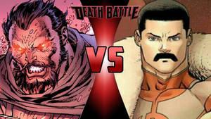 General Zod vs. Thragg