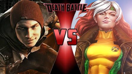 Delsin Rowe vs. Rogue by OmnicidalClown1992