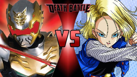 Robo Knight vs. Android 18 by OmnicidalClown1992