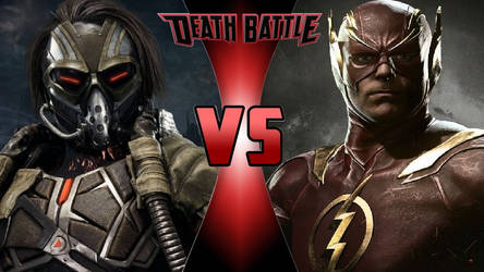 Kabal vs. The Flash by OmnicidalClown1992