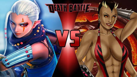 Impa vs. Sheeva by OmnicidalClown1992
