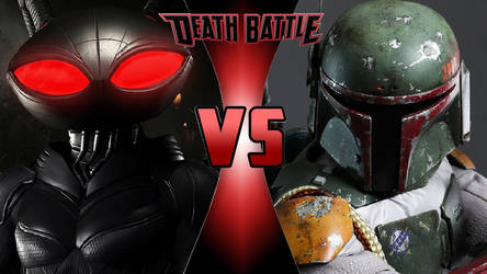 Black Manta vs. Boba Fett by OmnicidalClown1992