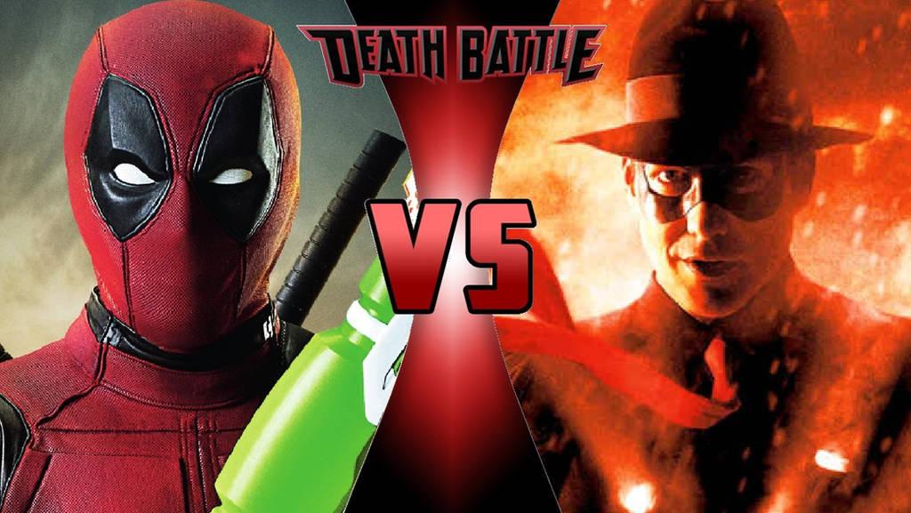 Deadpool vs. The Spirit by OmnicidalClown1992