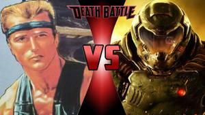 Bill Rizer vs. Doomguy