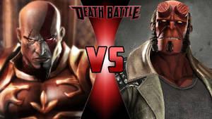 Kratos vs. Hellboy