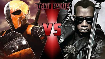 Deathstroke vs. Blade by OmnicidalClown1992