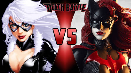 Black Cat vs. Batwoman by OmnicidalClown1992