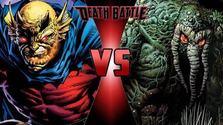Etrigan vs. Man-Thing by OmnicidalClown1992