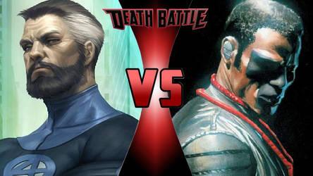 Mr. Fantastic vs. Mr. Terrific by OmnicidalClown1992