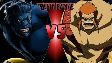 Beast vs. Mammoth by OmnicidalClown1992