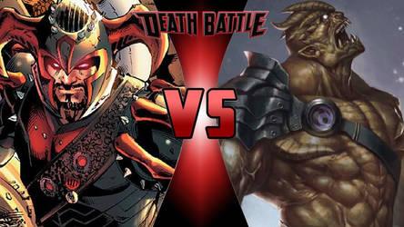 Steppenwolf vs. Black Dwarf by OmnicidalClown1992